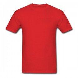 Camiseta Vermelha Básica -...