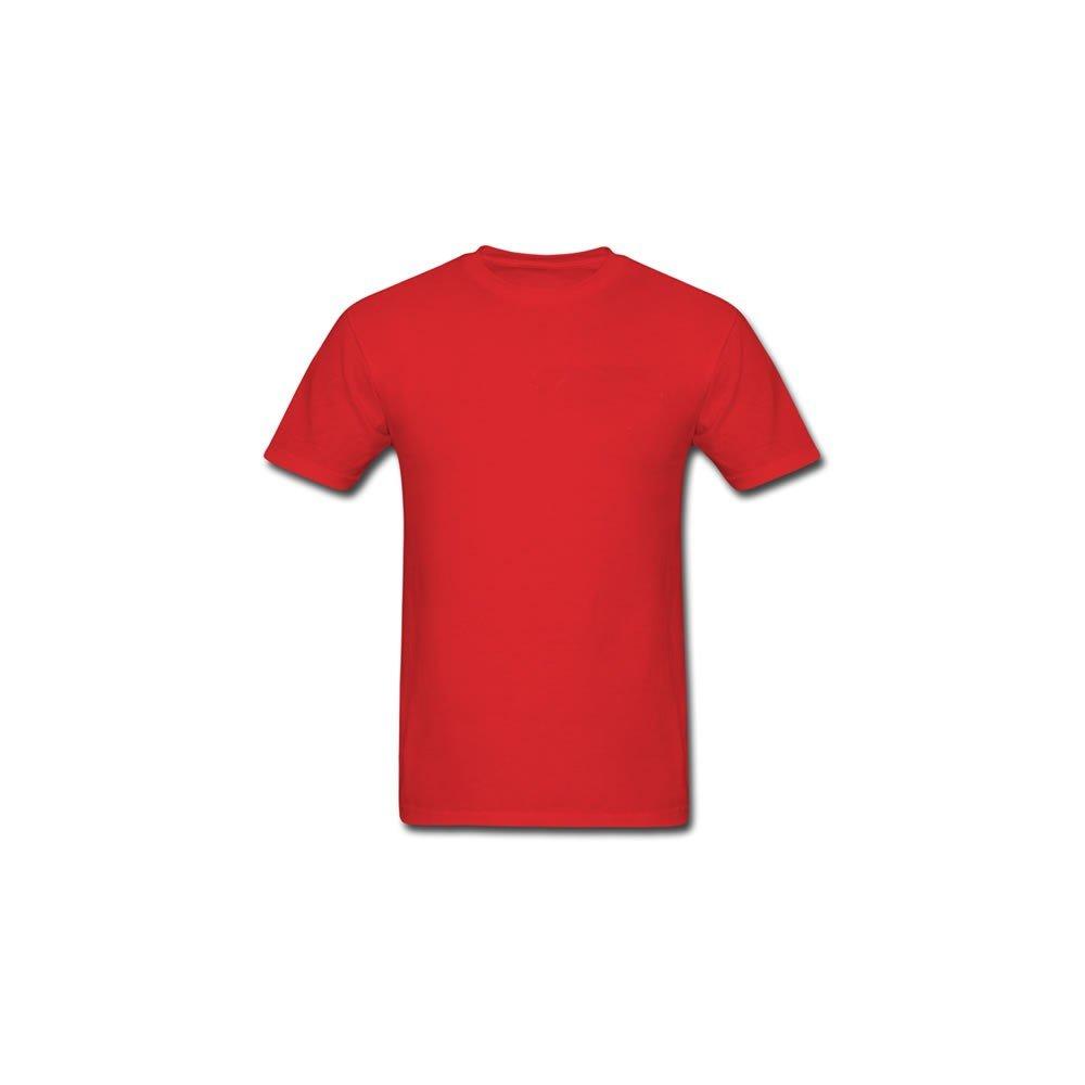 acc053c76 Camiseta Vermelha Lisa 100% Algodão Masculina - Atacado de Camisetas