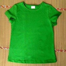 Baby Look Infantil Verde -...