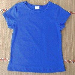 Baby Look Infantil Azul -...