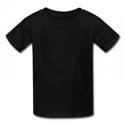 Camiseta Infantil Preta -...