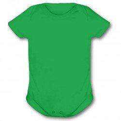 Body Infantil Verde - Algodão