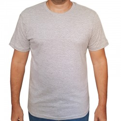 Camiseta Cinza Mescla...