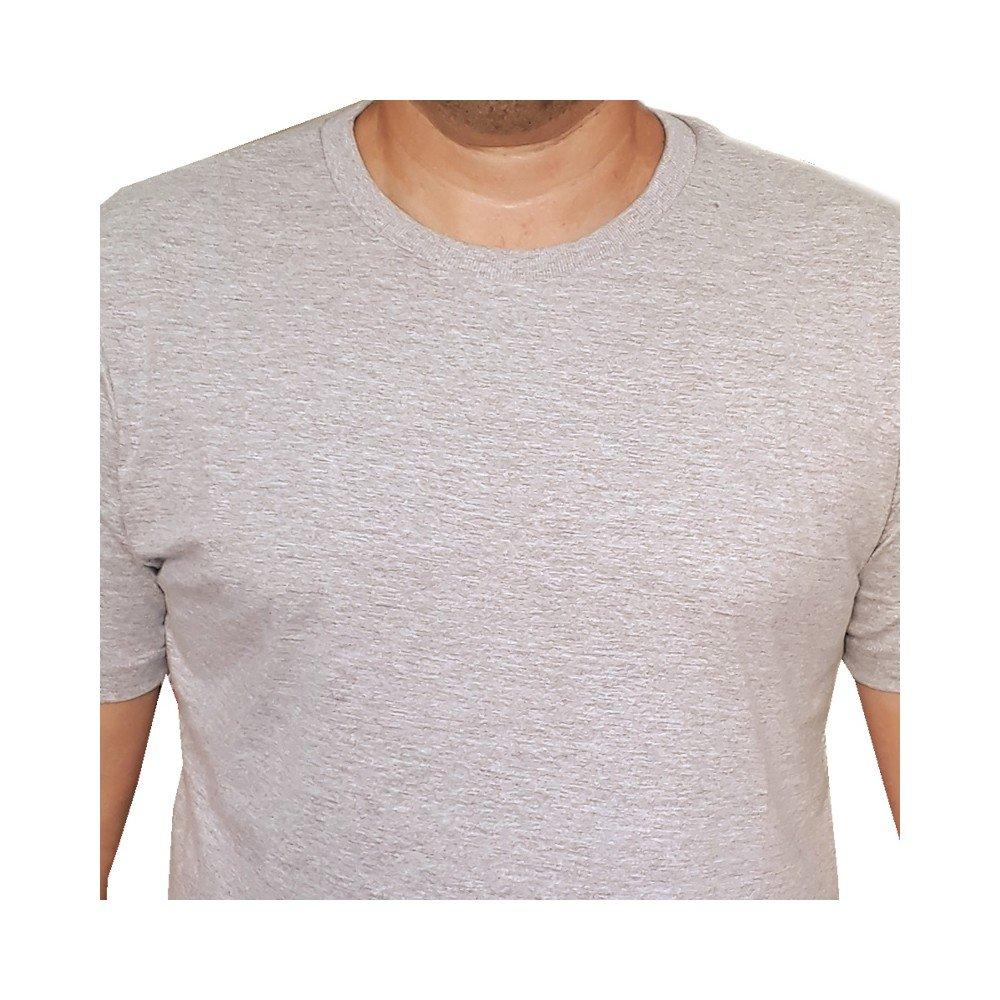 Camiseta lisa infantil 100% algodão - Branca