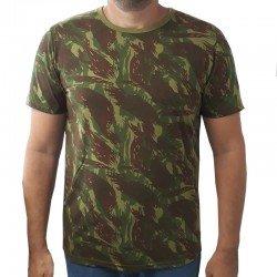 Camiseta Camuflada -...