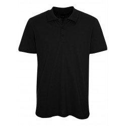 Camisa Polo Preta - Algodão...