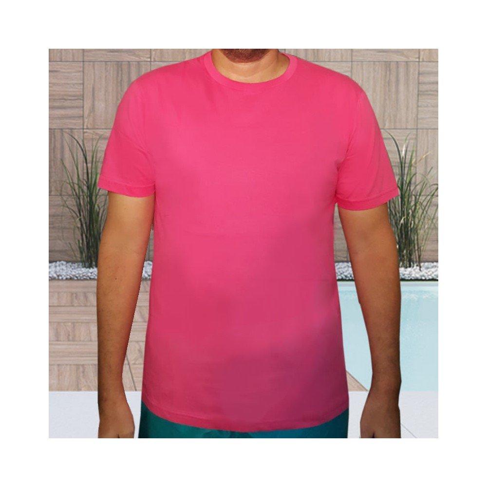 Camiseta 100% algodão babylook feminina - Vinho