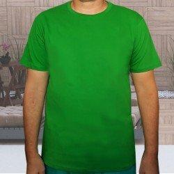 Camiseta Verde Básica -...