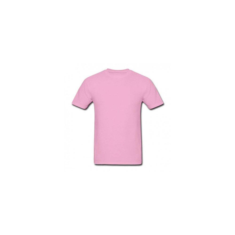 Camiseta lisa algodão masculina - Vermelha