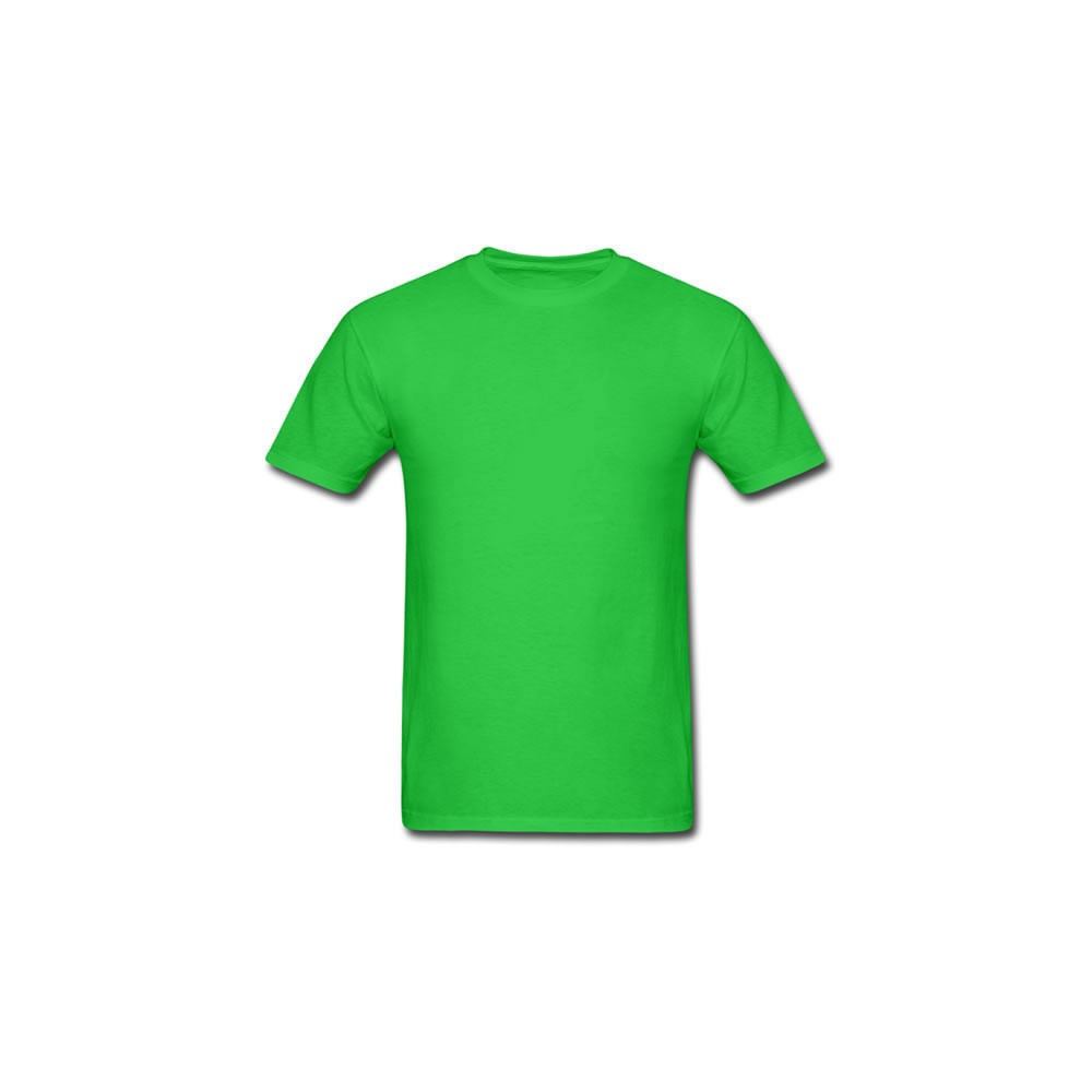 Camiseta lisa algodão baby look feminina - Verde