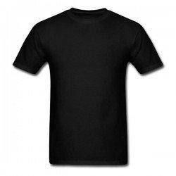 Camiseta Preta com Reforço...